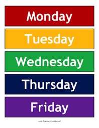 weekdays logo