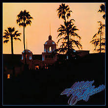HOTEL CALIFORNIA - LP ALBUM COVER