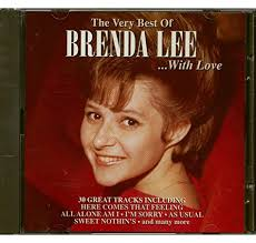 BRENDA LEE - VERY BEST OF - LP COVER