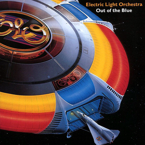 ELO - OUT OF THE BLUE - LP COVER